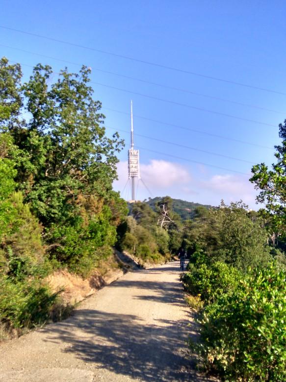 Torre de Collserola, aprox km10