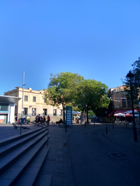 Estación metro FGC de Sant Cugat