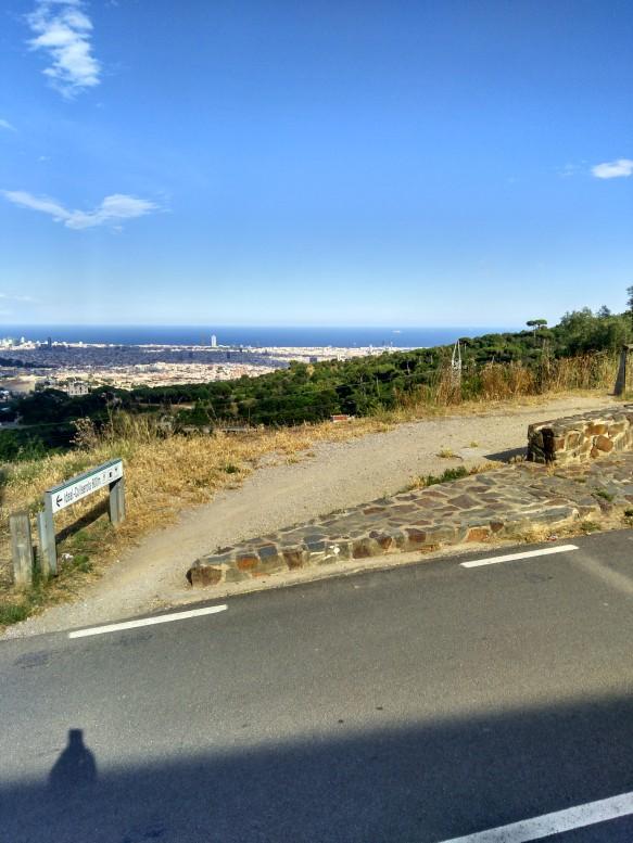 Aprox km 2. Carretera de Vallvidrera a Molins de Rei
